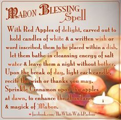 mabon, book of shadows, spell, magick, white witch, occult, metaphysical, blessing, wheel of the year, wicca, witch, apples, candles, altar, spellcast, cauldron, witch cottage, enchanted, ritual www.whitewitchparlour.com