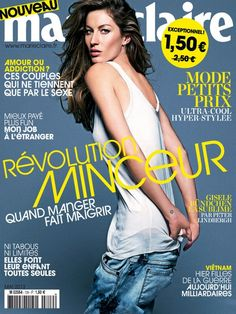 Gisele Bündchen  Marie Claire Magazine Cover [France] (May 2013)