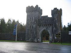 Entrance to Ashford Castle