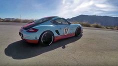 This Modified 2006 Porsche Cayman Has a Naughty V8-Swapped Secret in the Middle
