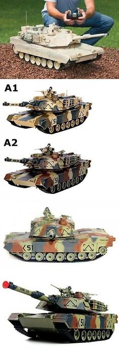 c73018d1a9c6c Tanks and Military Vehicles 45986: Rc Tank M1a2 Abrams Usa Airsoft Tank Toy  16 Military