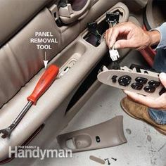 Easy Power Window Repair - Article: The Family Handyman
