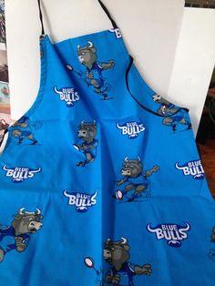 """Blue Bulls"" rugby braai apron"