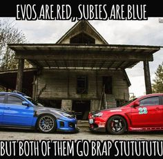 A poem about Evos and STIs. Car memes 12/03/15.
