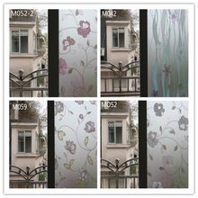 Livraison gratuite auto - adves givré verre Film de bande cercle motif confidentialité fenêtre autocollant 60/90 * 100 cm(China (Mainland))