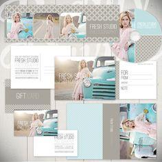 Photography Marketing Templates: Fresh Studio- Beauty Divine Design $60