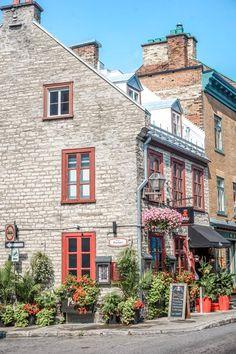 Visiter la ville de Québec, la chute Montmorency et l'île d'Orléans Montreal Quebec, Quebec City, Chute Montmorency, Bas Saint Laurent, Le Petit Champlain, Canada, Mansions, House Styles, Villas