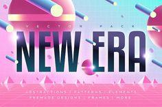 NEW ERA. Vector Graphic Pack by Darumo Shop on @creativemarket