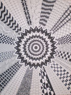 Zentangle made by Mariska den Boer 59