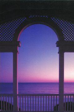 Beach Pavilion sunset, Seaside, Florida Dad's favorite sunset spot