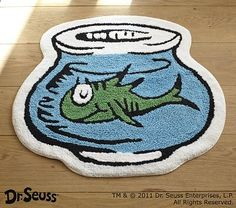 Dr. Seuss™ Bath Mat on potterybarnkids.com - gift for Max's bathroom!