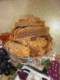 Greek Cookies, Pastry Cake, Biscuits, French Toast, Vegan, Breakfast, Desserts, Recipes, Food
