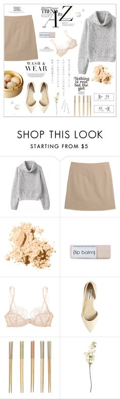 """♠ JAPAN"" by paty ❤ liked on Polyvore featuring Maison Margiela, Bobbi Brown Cosmetics, Agent Provocateur, Steve Madden, Crate and Barrel, OKA and Conair"