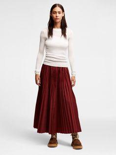 DKNY Sheer Pinstripe Pullover. #dkny #cloth #