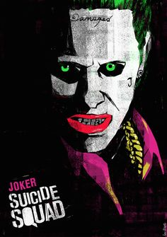 Suicide Squad by Ben Mcleod...except his eyes are ice blue....