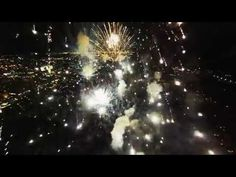 This Incredible Drone Video Shows Fireworks From Inside Their Explosions