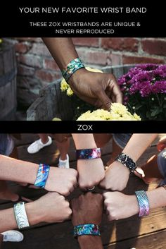 Beautiful Art and a Positive message! We created a unique little canvas for artists from all around the world to share their work. Our reversible wristbands feature stunning artwork on one side and a word of encouragement on the other. With over 4,000 5-Star reviews and more than 60,000 Happy Zoxers, we're sure that ZOX will truly be Your New Favorite Wristband.