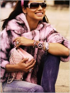 Adriana Lima also known brands for advertising Dior