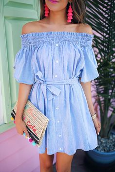 Summer Off the Shoulder Dresses You'll Wear Over and Over!