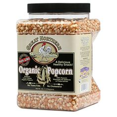 Great Northern Popcorn Organic Yellow Gourmet Popcorn All Natural, 4 Pounds Microwave Popcorn Maker, Air Popcorn Maker, Popcorn Company, Best Popcorn, Homemade Popcorn, Gourmet Popcorn, Hot Air Popcorn Popper, Great Northern Popcorn, Kettle Popcorn