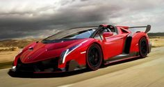 Lamborghini Veneno Roadster! We know that a Red Veneno is awesome but what does the color of your car say about you??