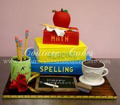 retiring teacher cakes - Google Search