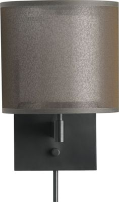 Eclipse Antiqued Bronze Wall Sconce in Sconces   Crate and Barrel