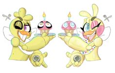 Chica and Toy Chica