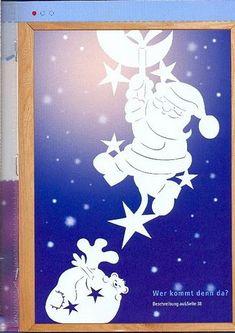 Украшения на окна из бумаги к новому году трафареты на белом фоне