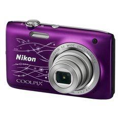 Nikon Digital Compact Camera Coolpix S2800/Purple Designer Rs. 6,350  click here - http://goo.gl/4tJONM   pic.twitter.com/2X4AXiMQOn