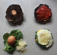 """Marcella Jewell of """"This Skid Kid Grills"""" shares her recipe for Portobello Pizza with spinach, egg and cheese"""