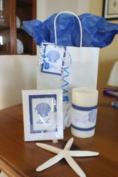 Beach Wedding Welcome Bags www.loveitsomuch.com