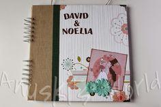 Libro de firmas de boda para David y Noelia - Anuski´s World