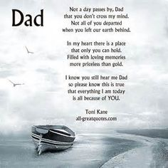 in memory of dad quotes - Bing Images