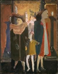 Mark Rothko-Women with Child - The Subway Series