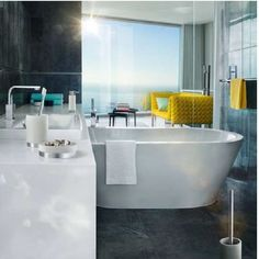 #Modern bathroom.