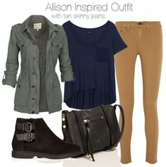 Allison Argent Inspired Outfit