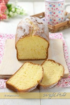 Plumcake al latte sofficissimo - Comida Postres Oreo Cake Light, Plum Cake, Loaf Cake, Chiffon Cake, Almond Cakes, Savoury Cake, Mini Cakes, Vanilla Cake, Italian Recipes