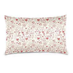 20 x 26 Kiss Love Design Cotton Velvet Pillow Cases Cushion Covers \u003e\u003e\u003e To