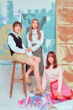 Gfriend The Star Magazine 2018 September Issue Scans Kpop Girl Groups, Korean Girl Groups, Kpop Girls, Star Magazine, Group Poses, Creative Shot, Entertainment, G Friend, Foto Pose