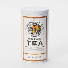 柚子煎茶 缶入100g