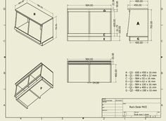D.I.Y Pro Audio: Studio Compact Rack Desk Plans.