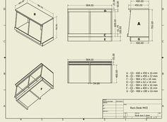 D.I.Y Pro Audio: Studio Compact Rack Desk Plans.