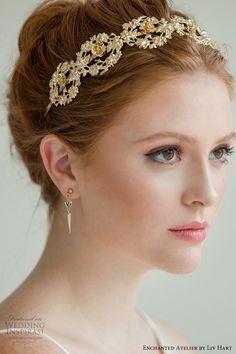 enchanted atelier liv hart fall 2019 accessories gold headband (7) -- Enchanted Atelier by Liv Hart Fall 2019 Collection | Wedding Inspirasi #wedding #weddings #bridal #weddingideas ~