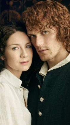 Claire and Jamie Fraser Outlander