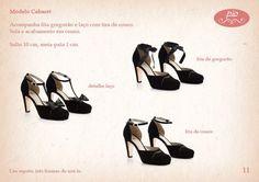 Sapatos 3 em 1 da Pio Acessórios!