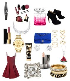 Would You Wear It? by sparkle-4 on Polyvore featuring Glamorous, Giuseppe Zanotti, Chanel, Movado, Sara Designs, Michael Kors, Forever 21, Burberry, NYX and Jimmy Choo