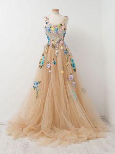 Beautiful Prom Dress, champagne prom dresses ball gown prom gowns lace prom dresses tulle prom dresses tulle prom gown prom dress evening gown for teens Meet Dresses Ball Gowns Prom, Ball Dresses, Prom Dresses, Formal Dresses, Quince Dresses, Quinceanera Dresses, Bridal Dresses, Wedding Dress, Elegant Bridesmaid Dresses