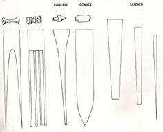 Perline di carta di varie forme