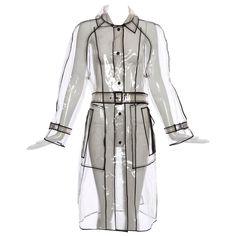 Prada Transparent PVC Rain Coat, Autumn - Winter 2002 - 2003